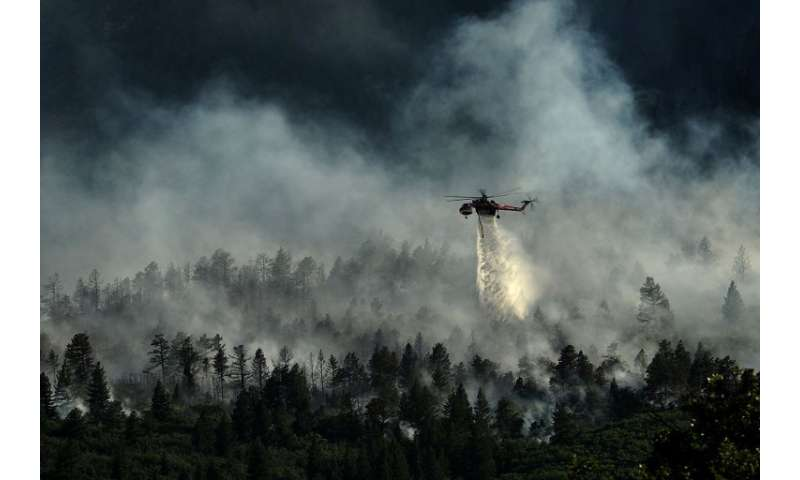 Study shows effects of wildfires on health