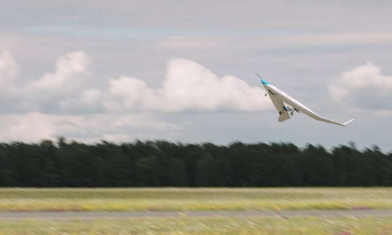 Successful maiden flight for energy-efficient Flying-V