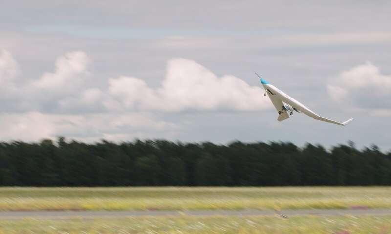 Chuyến bay đầu tiên thành công cho Flying-V tiết kiệm năng lượng