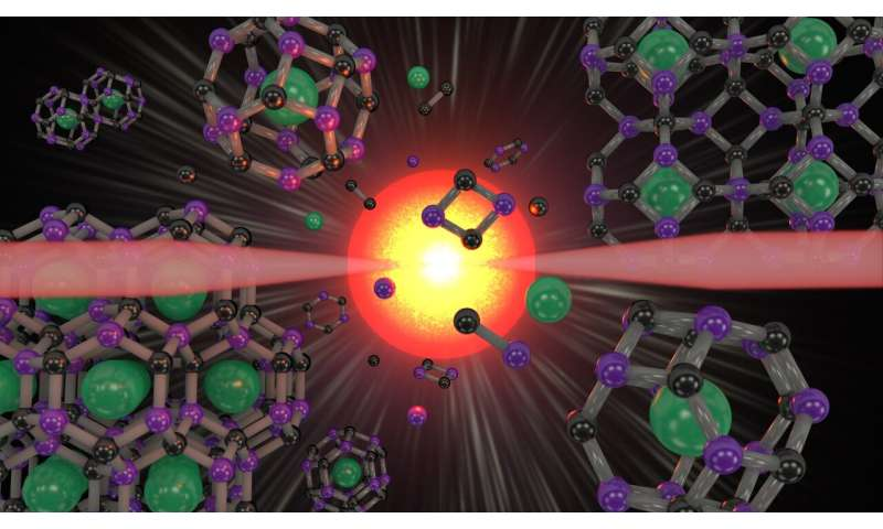 'Superdiamond' carbon-boron cages can trap and tap into different properties