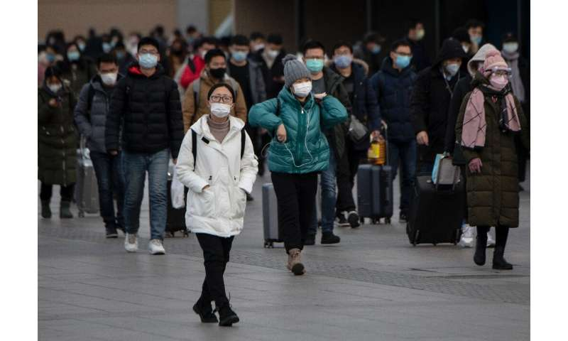 Surgical masks are being worn across China as a preventative measure against the coronavirus