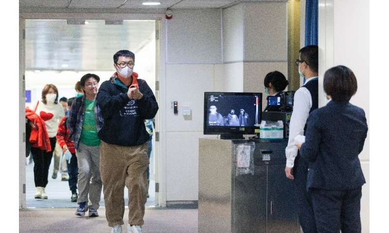Taiwan's Center for Disease Control has stepped up monitoring of incoming passengers