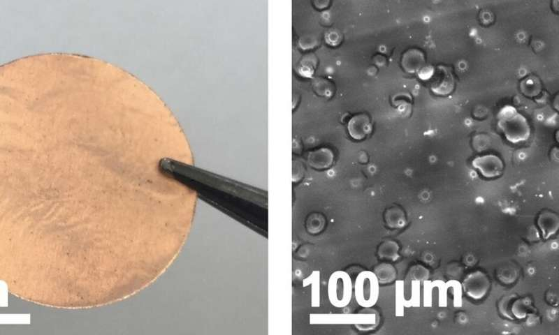 Tale of the tape: Sticky bits make better batteries