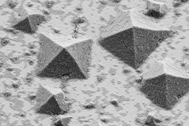 Technique reveals how crystals form on surfaces