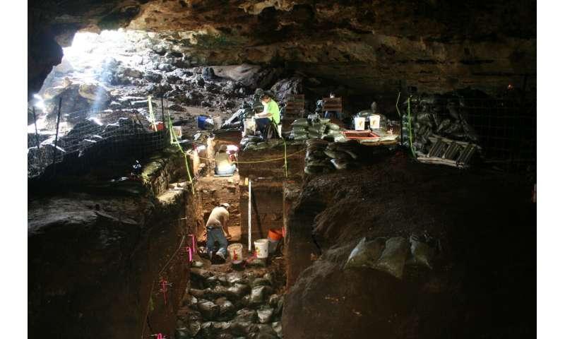 Texas cave sediment upends meteorite explanation for global cooling