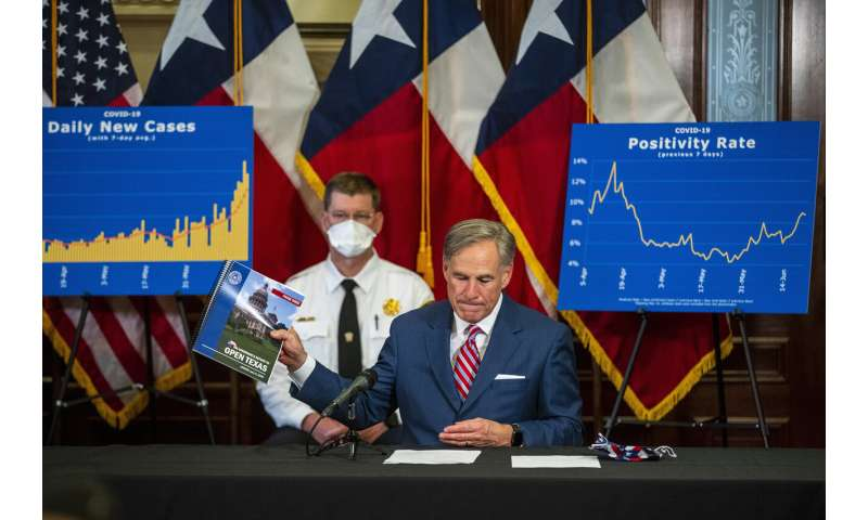 Texas hits 5,000 new cases for first time as virus surges