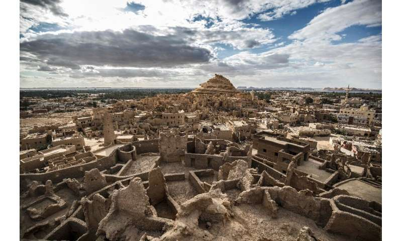 The 13th century edifice, called 'Shali' or 'home' in the local Siwi language, was built by Berber populations