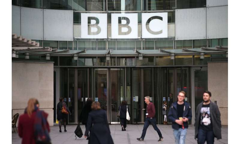 The BBC noted that audiences for traditional television broadcasts continued to decline