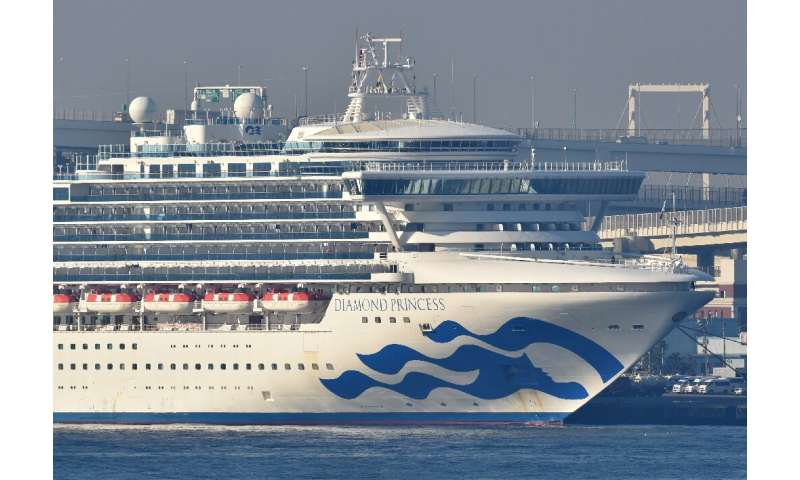The biggest cluster of cases outside China is on a cruise ship quarantined off Japan's coast, where 44 more people tested positi