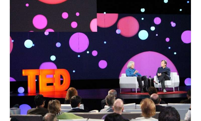 The big-ideas TED Conference cancelled its in-person event this year but award grants to a project aimed at averting pandemics a
