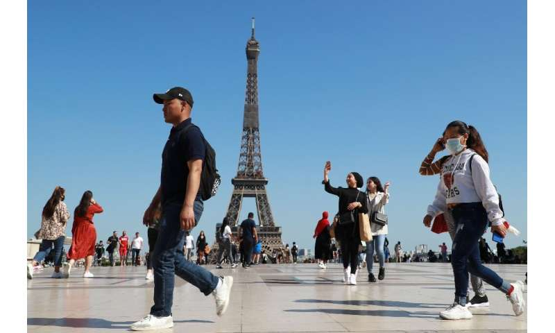 The Eiffel Tower is due to reopen Thursday—but visitors can only take the stairs due to social distancing