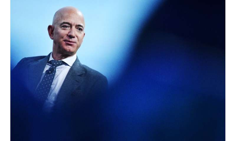 The fortune of Amazon CEO Jeff Bezos has risen with the company's share value, but the company will be using its profits from th