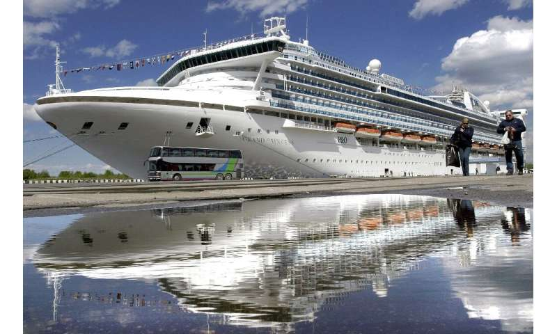 The Grand Princess belongs to Princess Cruises, the same company which operated the coronavirus-stricken ship held off Japan las