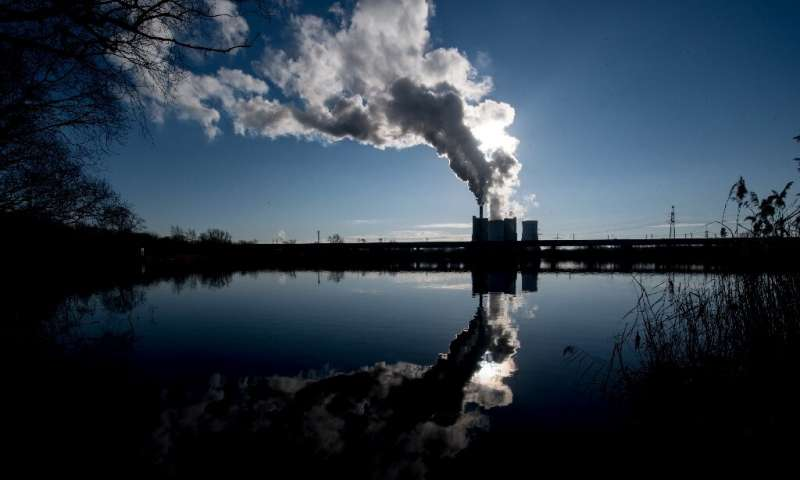 The IEA said that emissions from coal—the most polluting fossil fuel—fell nearly 200 million tonnes, around 1.3 percent from 201
