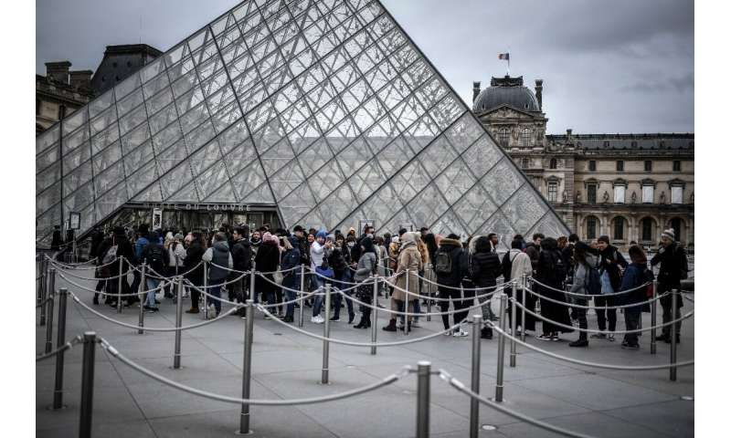 The Louvre, the world's most visited museum, closed on Sunday after staff refused to work