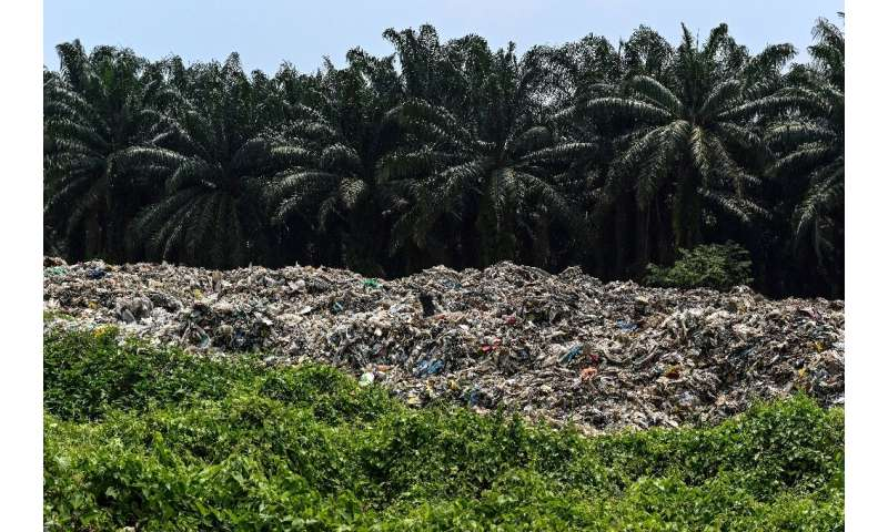 The Malaysian district of Jenjarom quickly became flooded with rubbish after a move by China to restrict its waste recycling saw