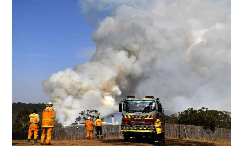 The milder conditions are expected to last around a week, giving firefighters time to try to get the fires under control