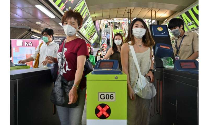 The number of confirmed infections in Thailand has hit 14 —the highest outside of China