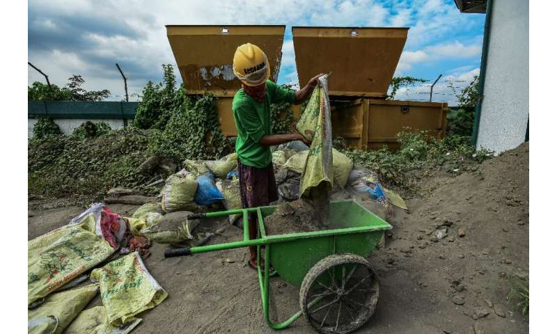 The Philippines faces a waste crisis, with a report last year saying it uses a 'shocking' amount of single-use plastic