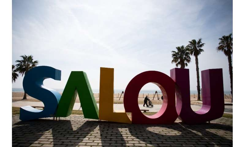 The Spanish resort town of Salou is entirely dependent on tourism, both national and international