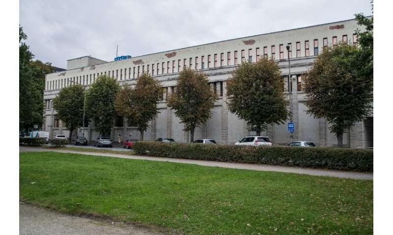 The unit's base in Tallinn, Estonia, is heavily guarded