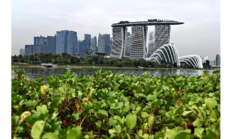 The use of drones is part of Singapore's drive to embrace technological innovation