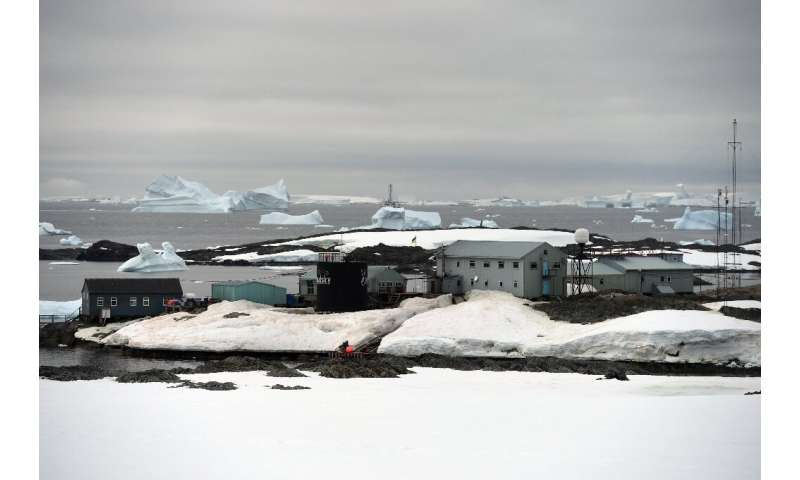 The Vernadsky research base on on Galindez Island, Antarctica, where Yuriy Otruba and his team will spend the next year