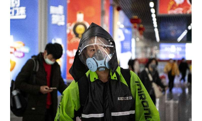 The virus first emerged in China, where the economy has been battered by the epidemic