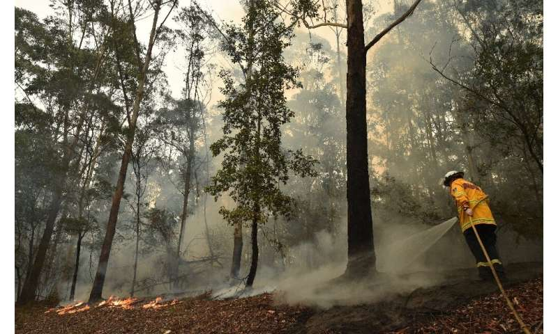 Thousands of firefighters were preparing for the worst with temperatures expected to soar