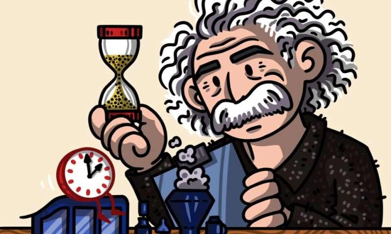 Timekeeping theory combines quantum clocks and Einstein's relativity
