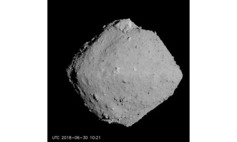 Touching the asteroid Ryugu revealed secrets of its surface and changingorbit