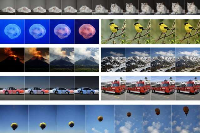 Training AI to generate varied poses and colors of objects and animals in photos