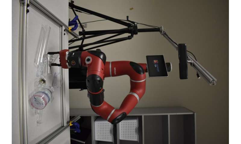 Transparent, reflective objects now within grasp of robots