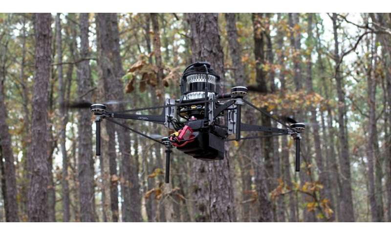 Treeswift's autonomous robots take flight to save forests