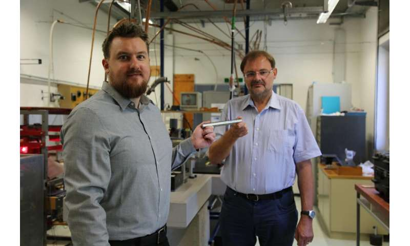 TU Graz experimental physicists study steel on board the ISS