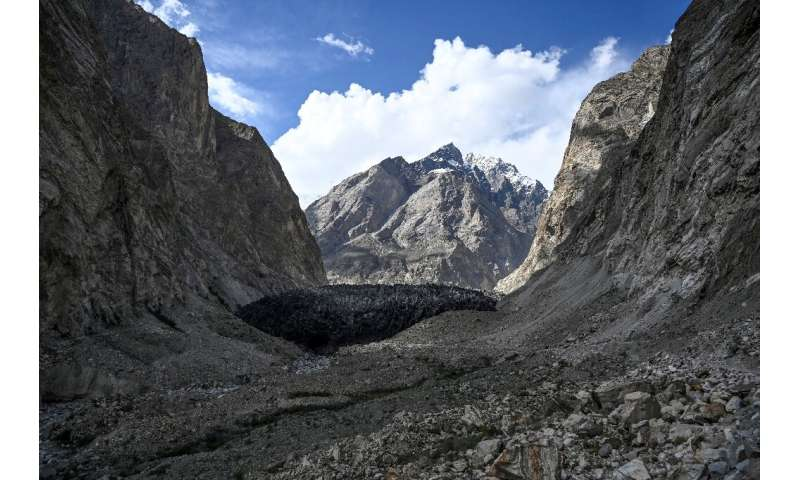 Two thirds of the glaciers of the Hindu Kush-Himalayan region, known as the world's 'Third Pole', will disappear by 2100 if curr