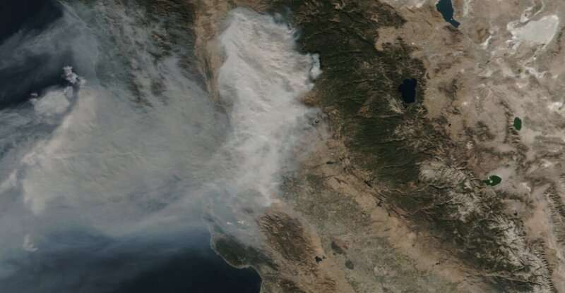 Unexpected wildfire emission impacts air quality worldwide