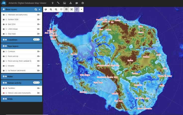 Updated mapping datasets for Antarctica