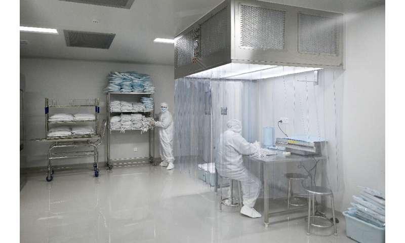 El gigante farmacéutico estadounidense Pfizer y su socio alemán BioNTech dijeron que su posible vacuna había demostrado una eficacia del 90 por ciento.