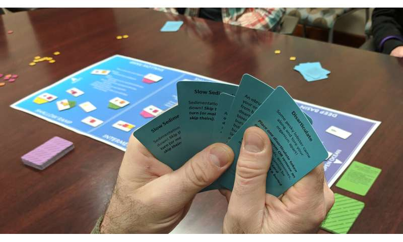 UT scientists' fossil-finding board game is a success in classrooms