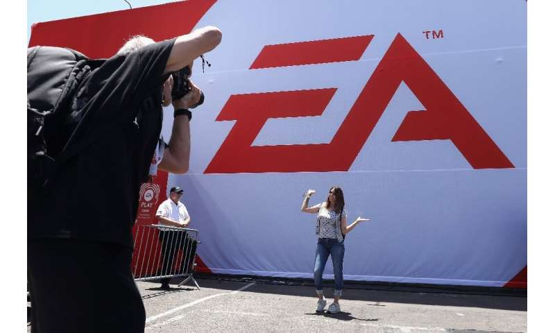 Video game titan Electronic Arts reported that its net income doubled to $418 million on revenue that grew to $1.4 billion in th
