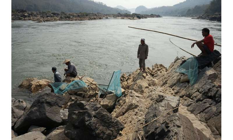 Villagers along the Mekong River in Laos and Thailand say their fish catch has dwindled as dams have come online