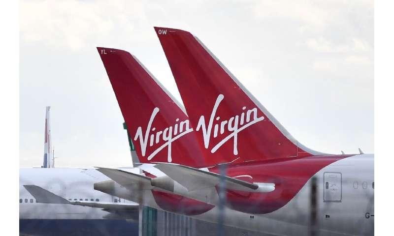 Virgin Atlantic is reportedly seeking more than half a billion dollars in state help saying it has taken a battering over the ec
