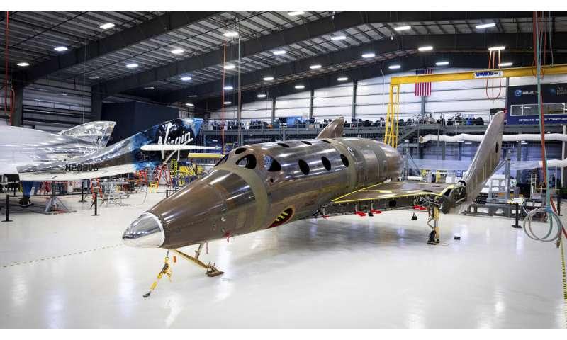Virgin Galactic's next spaceship reaches build milestone
