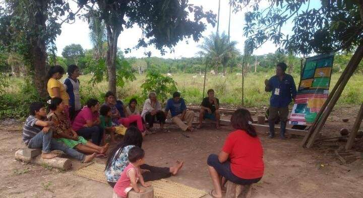 Voluntary collective isolation is best response to COVID-19 for indigenous populations