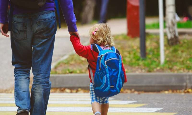 Walking to school is not enough to prevent obesity