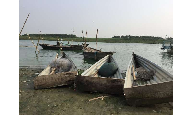 Waste fishing gear threatens Ganges wildlife