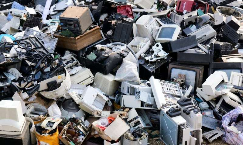 We're using microbes to clean up toxic electronic waste – here's how