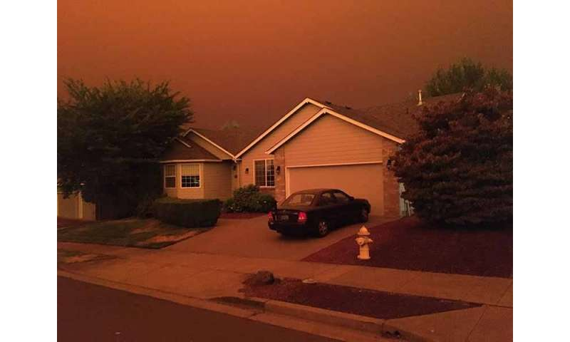 West coast wildfires, COVID a double whammy to lung health