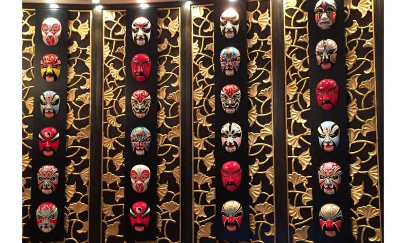 What do Chinese opera masks and spiders have in common? A lot, as it turns out.
